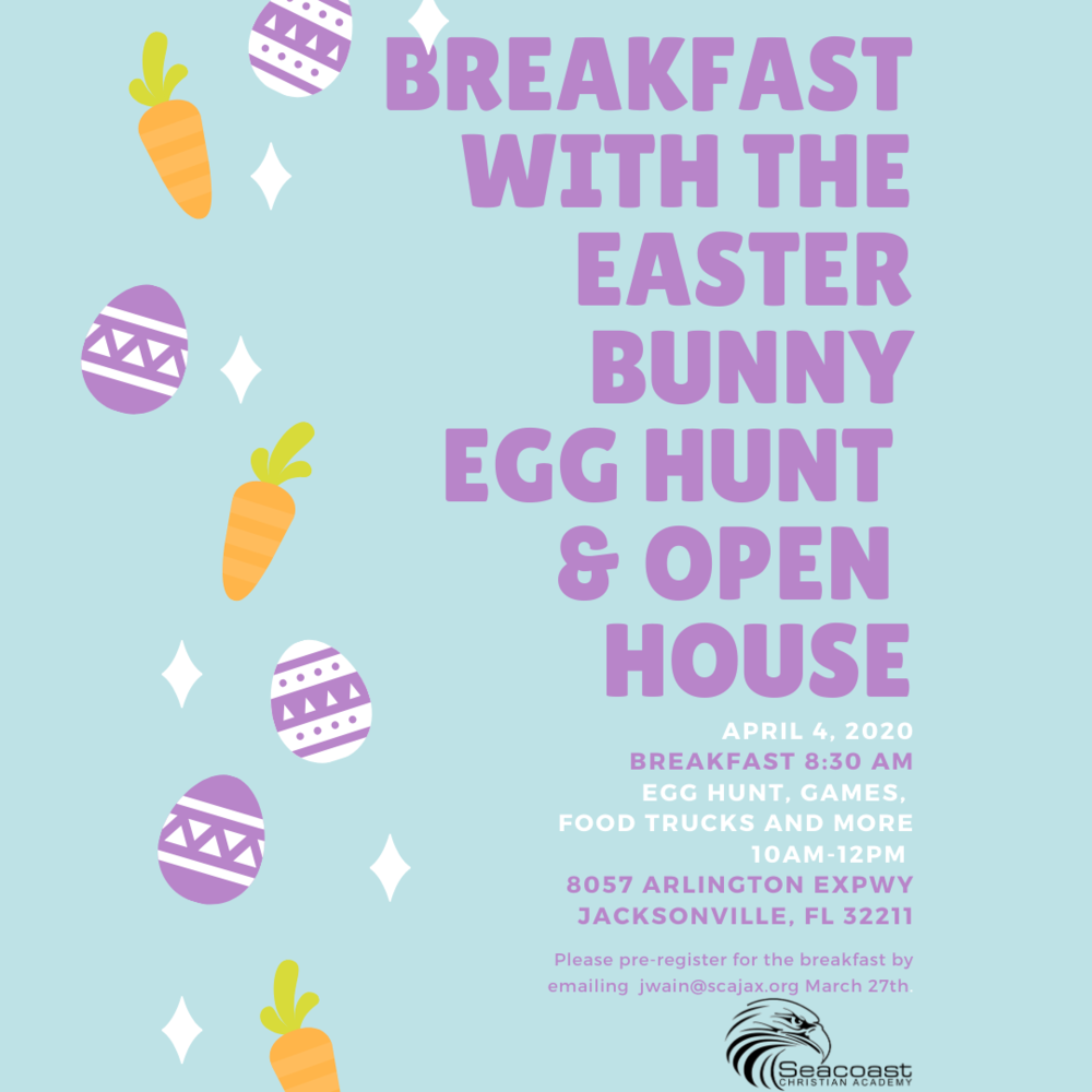 Breakfast with the Easter Bunny and Easter Egg Hunt!