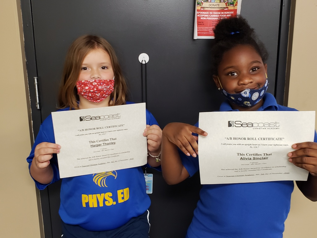 2nd Grade Honor Students