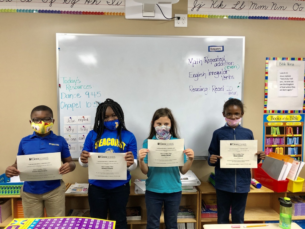 3rd Grade Honor Students