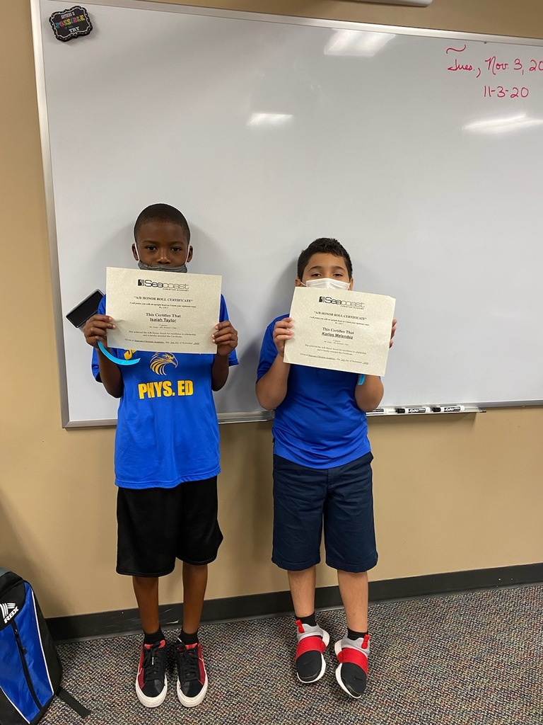4th Grade Honor Students